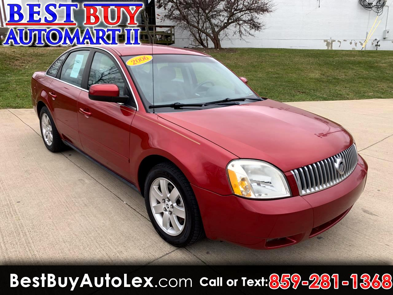 Mercury Montego Luxury AWD 2006