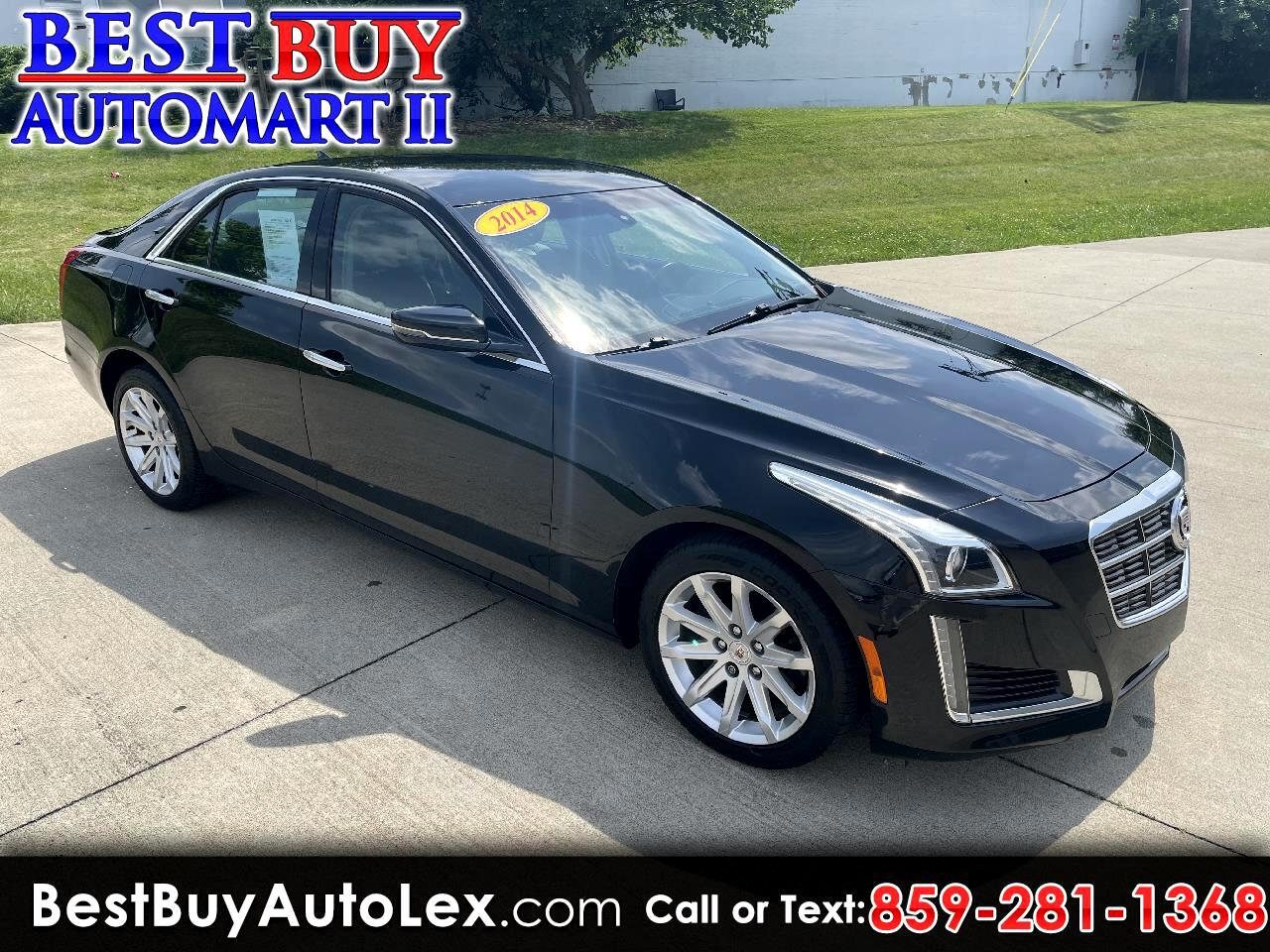 Cadillac CTS 2.0L Turbo AWD 2014