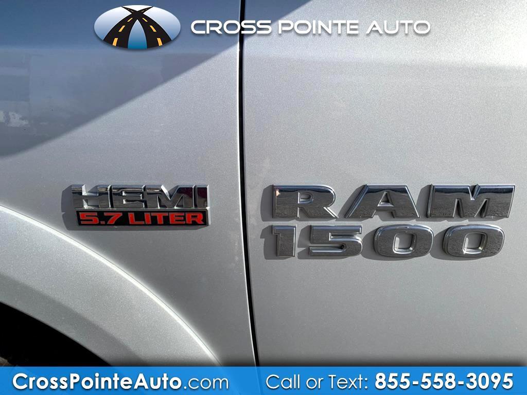 2013 RAM 1500 Laramie Crew Cab SWB 4WD