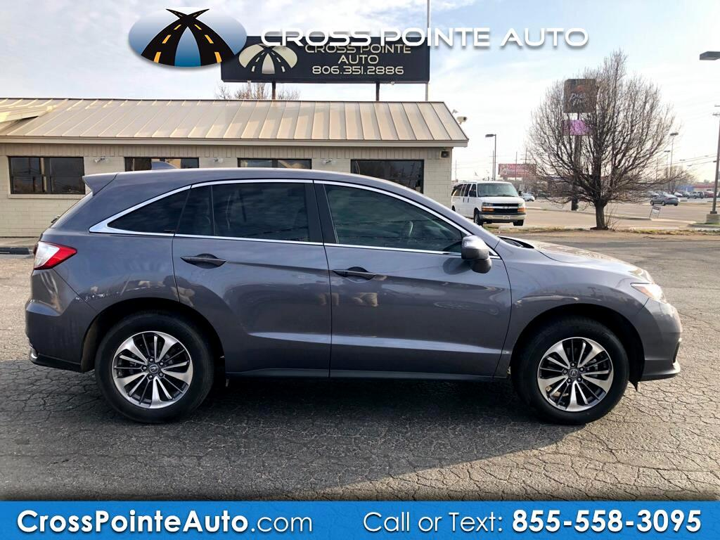 2017 Acura RDX 6-Spd AT w/Advance Package