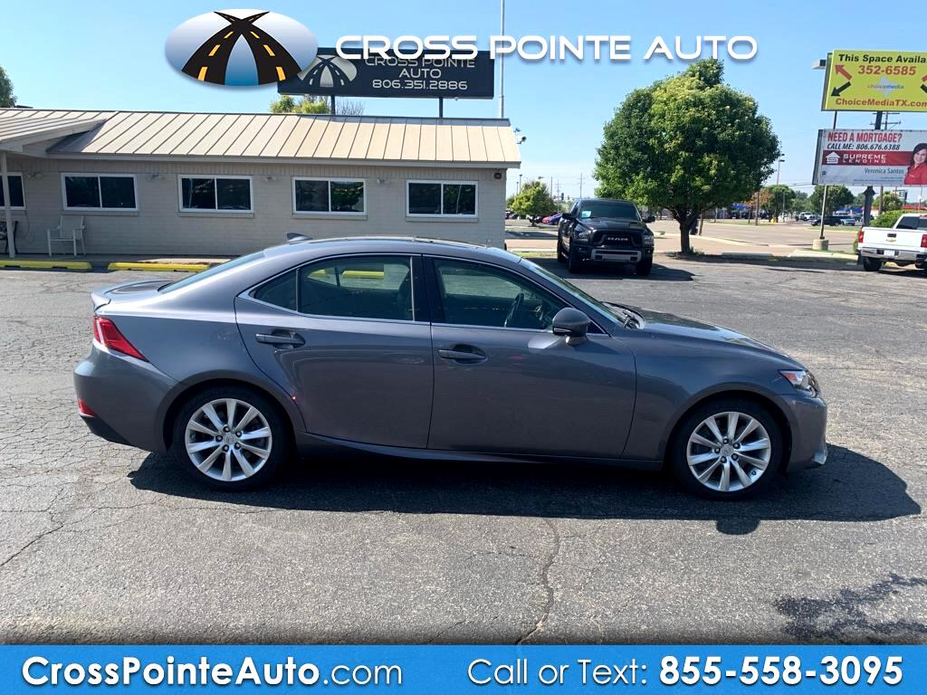 2016 Lexus IS 4dr Sdn AWD