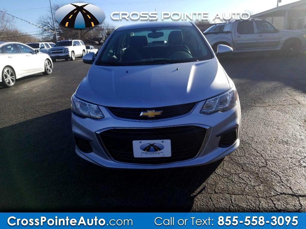 Chevrolet Sonic 4dr Sdn Auto LT 2017