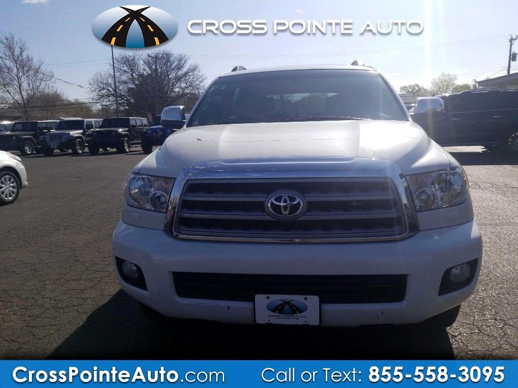 Toyota Sequoia 4WD LV8 FFV 6-Spd AT Platinum (Natl) 2011