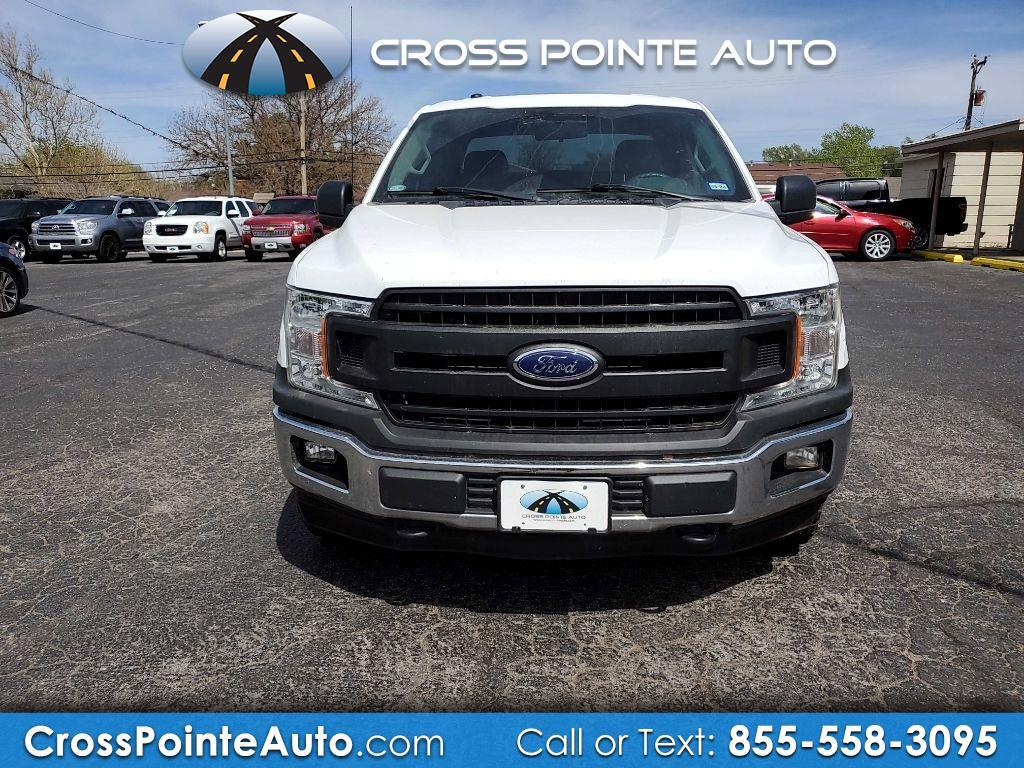Ford F-150 Lariat 4WD SuperCab 8' Box 2018