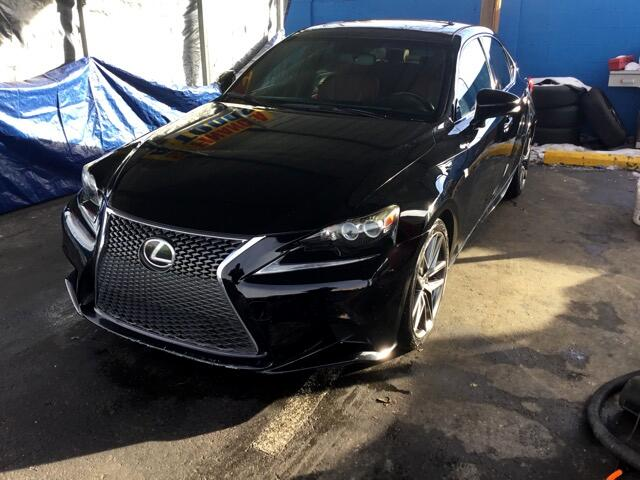 2014 Lexus IS 250 F-SPORT