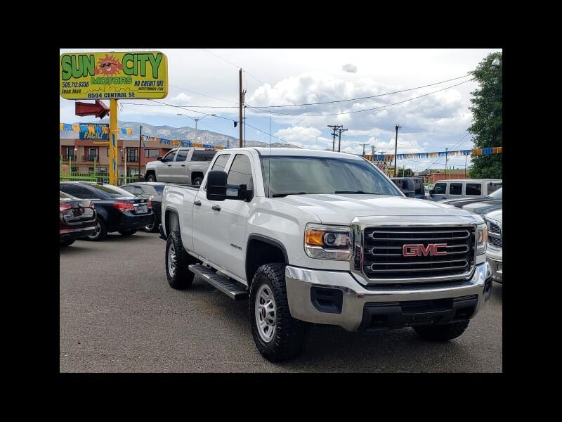2015 GMC Sierra 2500HD Base Double Cab 4WD