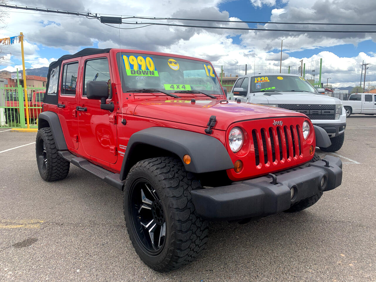 Jeep Wrangler Unlimited Sport 4WD 2012