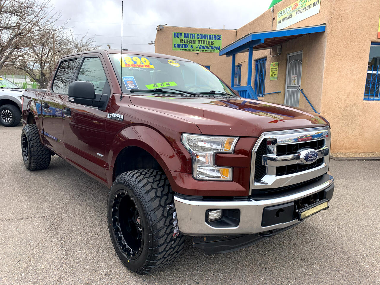 "Ford F-150 4WD SuperCrew 150"" XLT 2015"