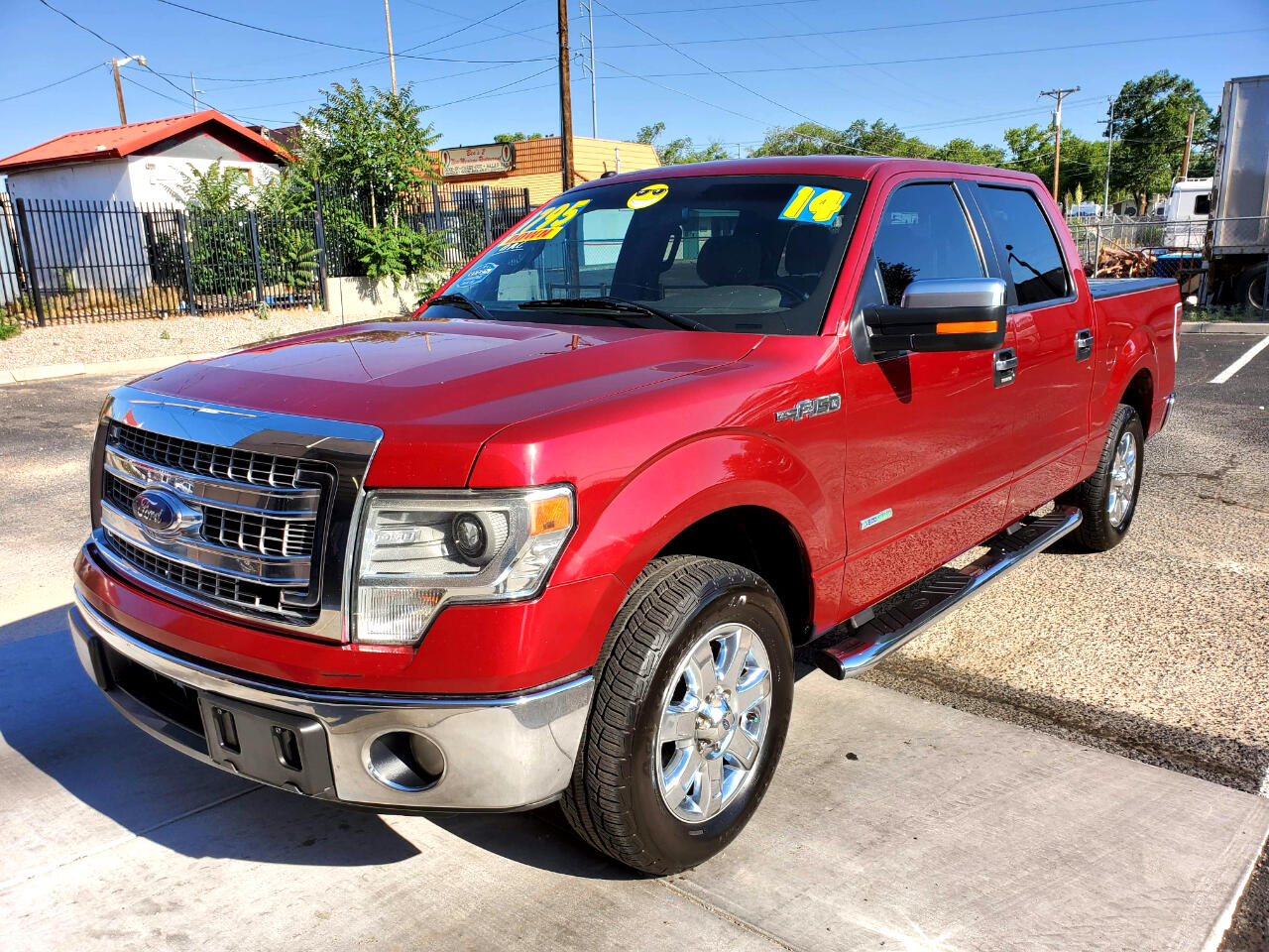 Ford F-150 XLT SuperCab 5.5-ft. Bed 2WD 2014