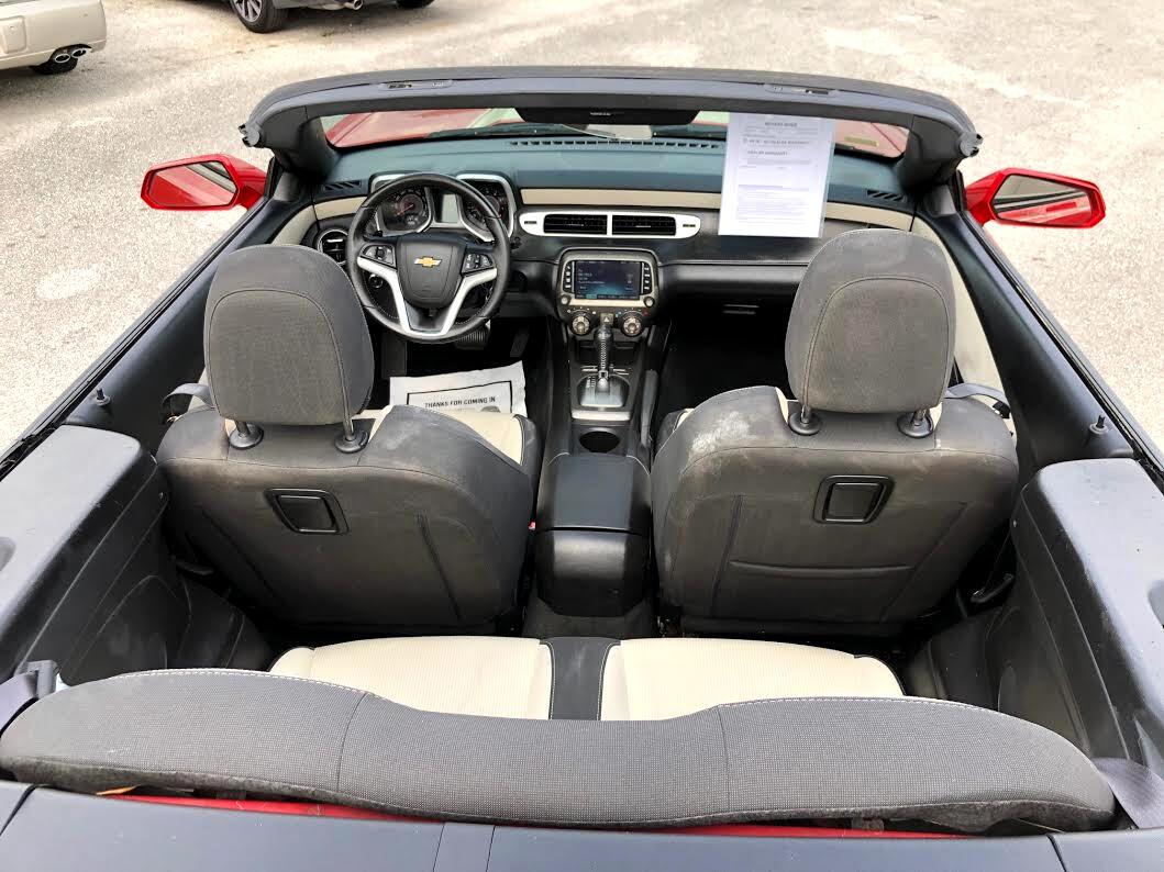 2013 Chevrolet Camaro Convertible 1LT