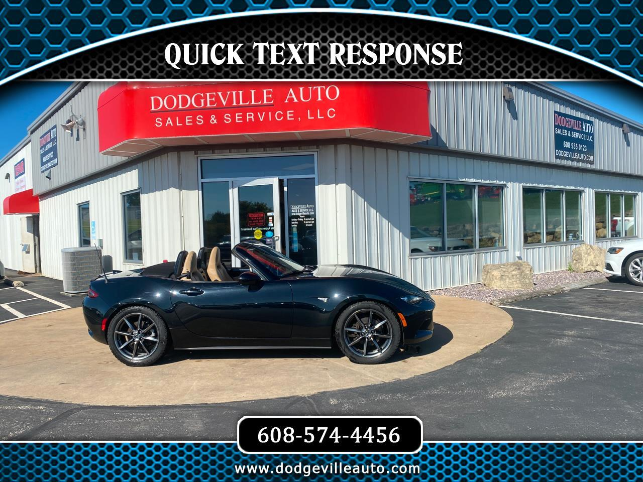 Mazda MX-5 Miata 2dr Conv Man Grand Touring 2016