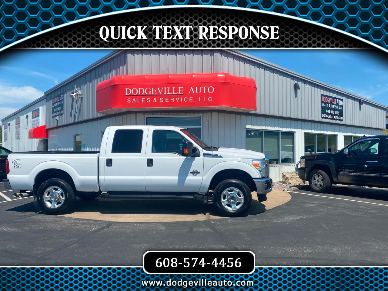 Ford Super Duty F-250 SRW XLT 4WD Crew Cab 6.75' Box 2015