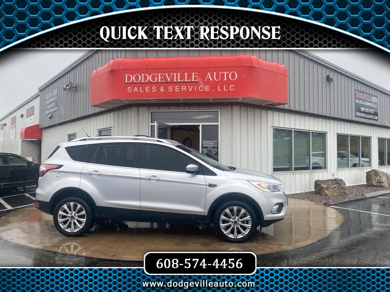 Ford Escape Titanium 4WD 2018