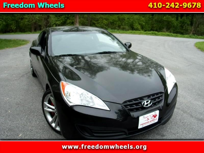 Hyundai Genesis Coupe 2.0T Track Manual 2010