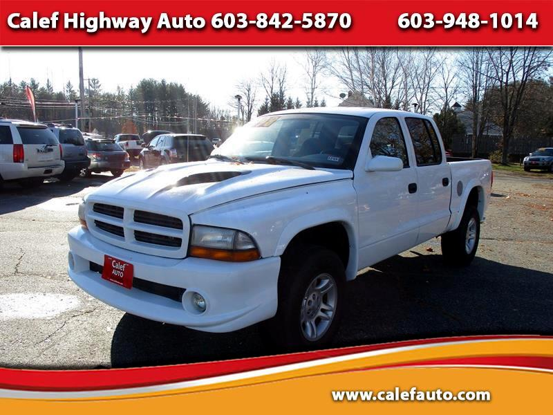 Dodge Dakota SLT Crew Cab 4WD 2002