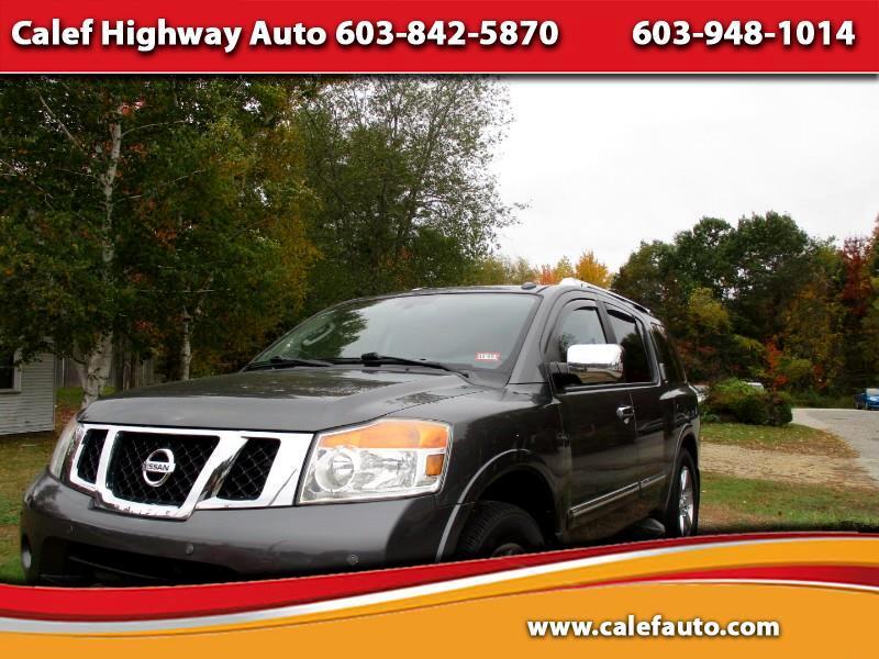 Nissan Armada Platinum 4WD 2011
