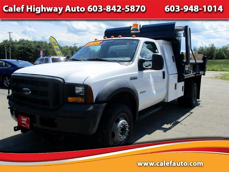 Ford F-550 Regular Cab 2WD DRW 2007