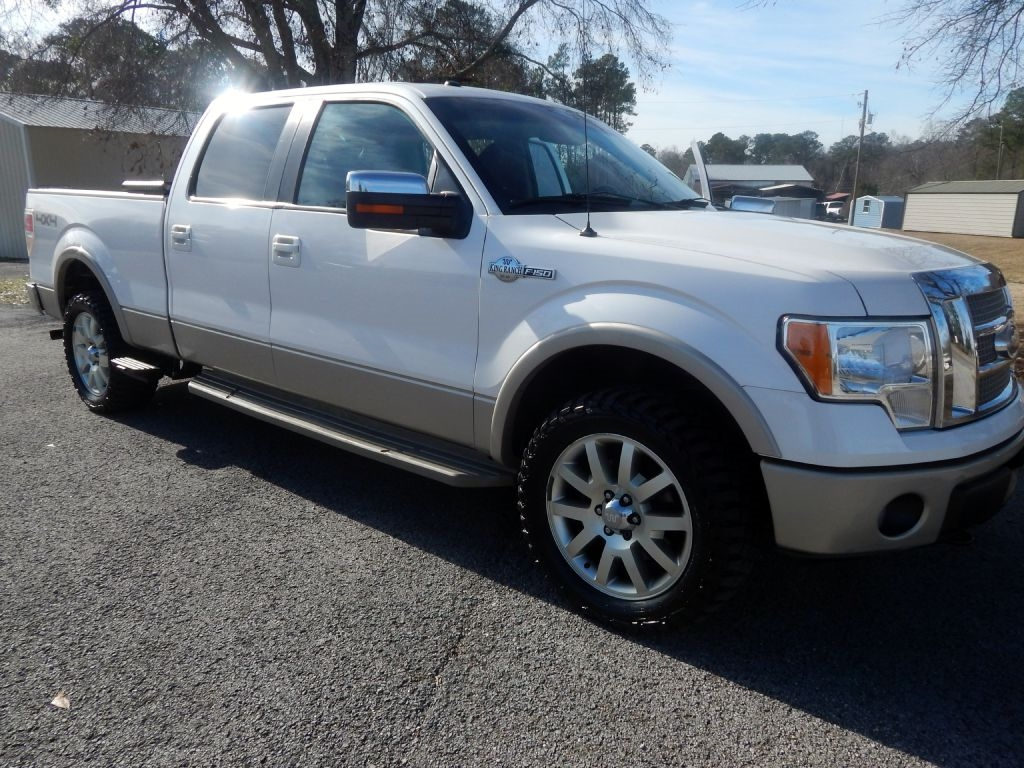 """Ford F-150 4WD SuperCrew 139"""" King Ranch 2010"""