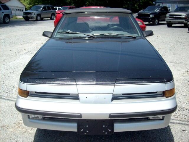 1987 Pontiac Sunbird GT convertible