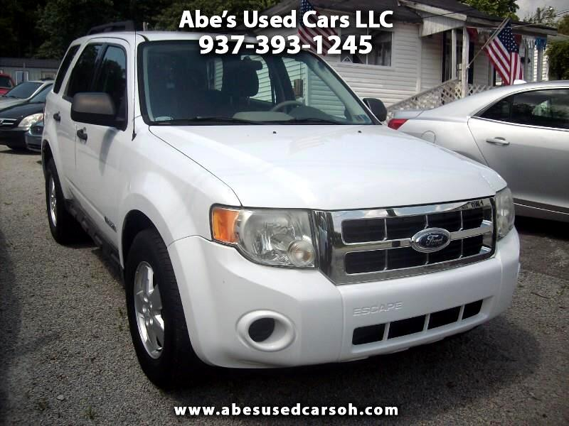 2008 Ford Escape XLS 4WD AT