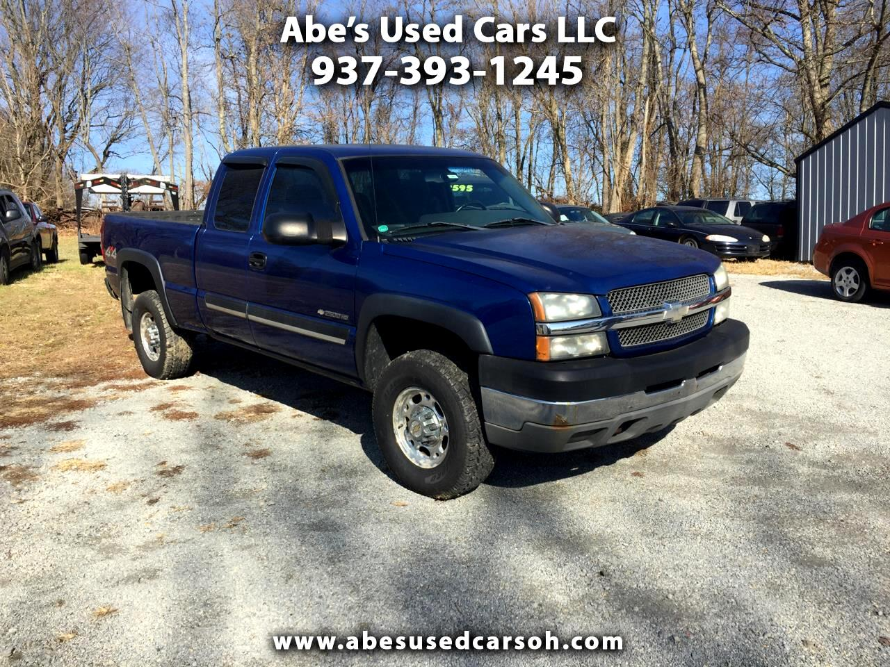 Chevrolet Silverado 2500HD LS Ext. Cab Short Bed 4WD 2003