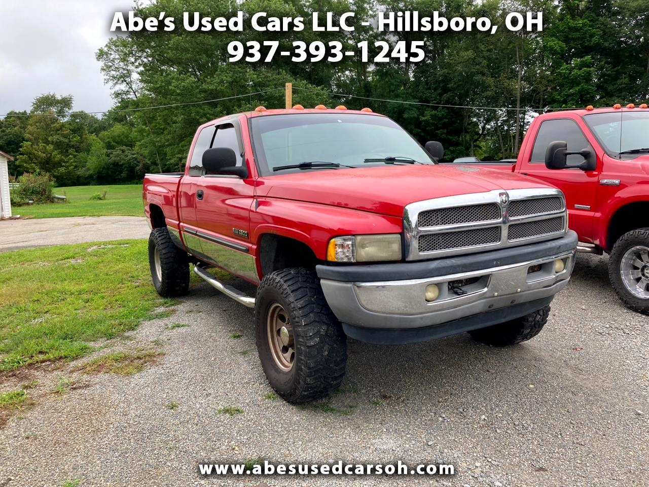 Used 2002 Dodge Ram 2500 St Quad Cab Short Bed 4wd For Sale In Hillsboro Oh 45133 Abe S Used Cars Llc