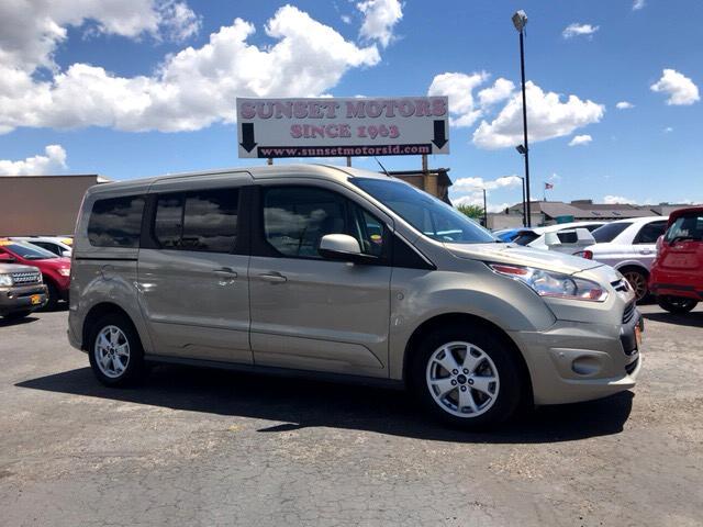 2015 Ford Transit Connect Wagon Titanium w/Rear Liftgate LWB