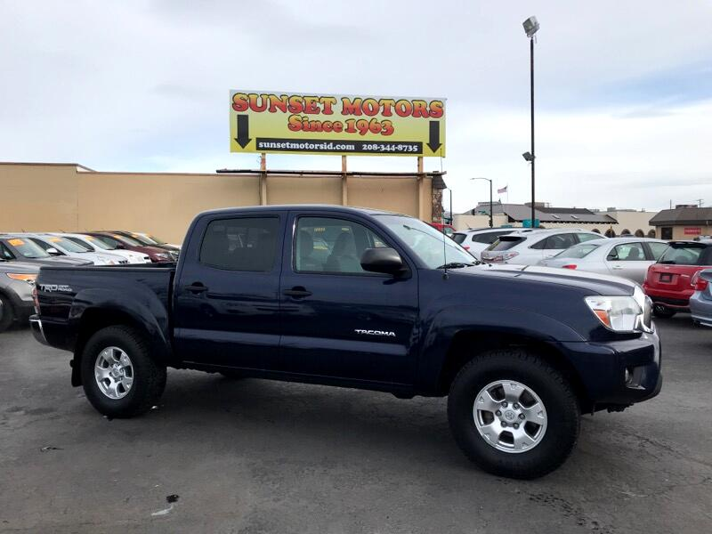 2013 Toyota Tacoma TRD Off Road Double Cab 5' Bed V6 4x4 AT (Natl)