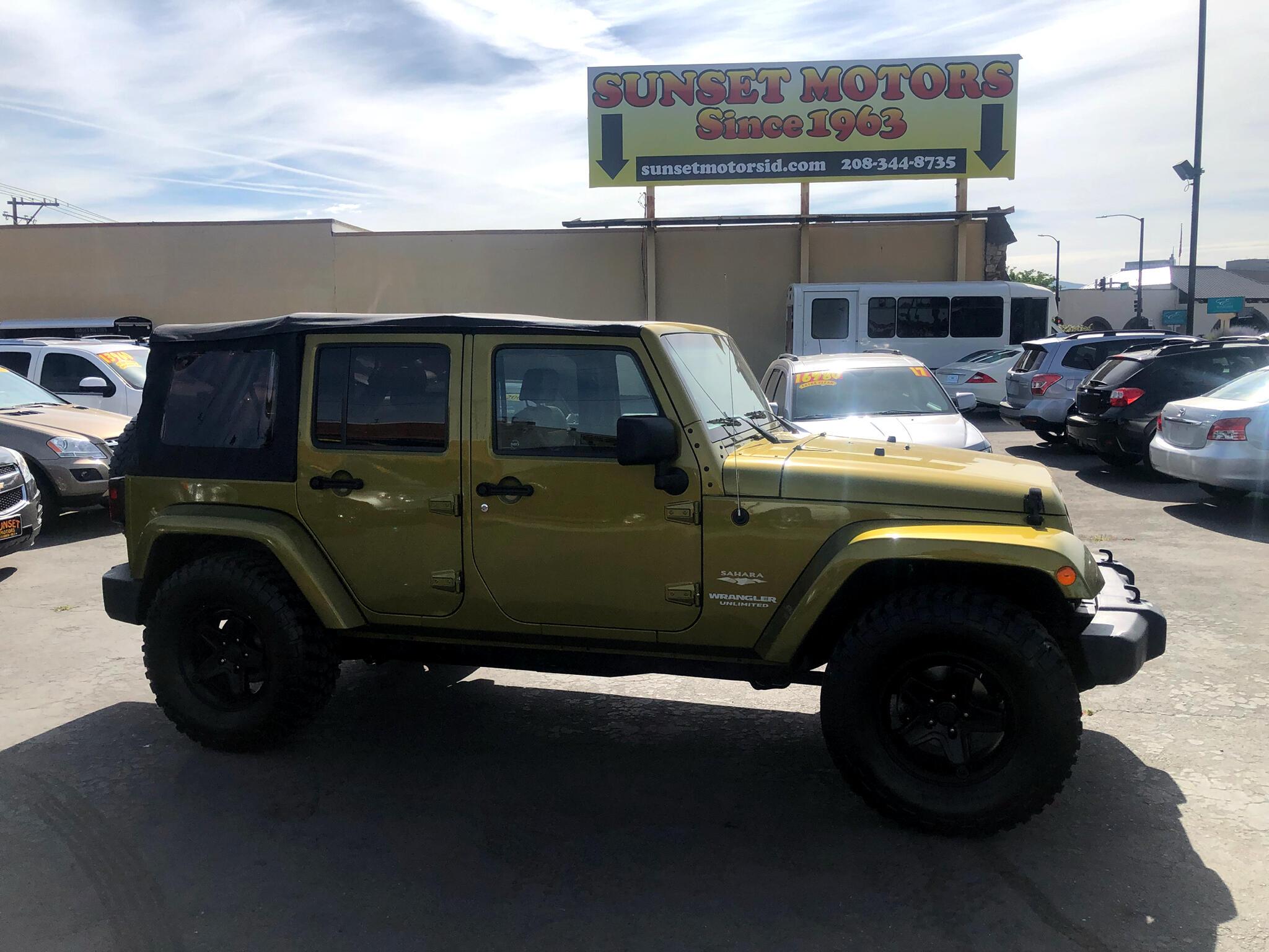 2007 Jeep Wrangler 4WD 4dr Unlimited Sahara