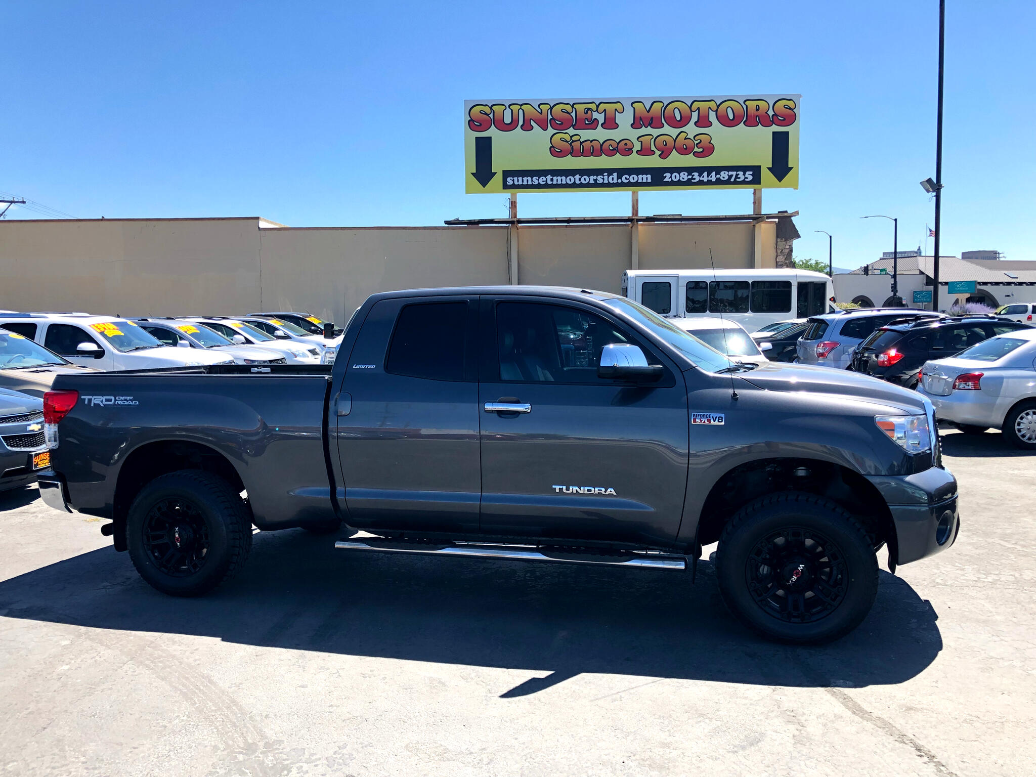 2013 Toyota Tundra 4WD Truck Double Cab 5.7L V8 6-Spd AT TRD Pro (Natl)