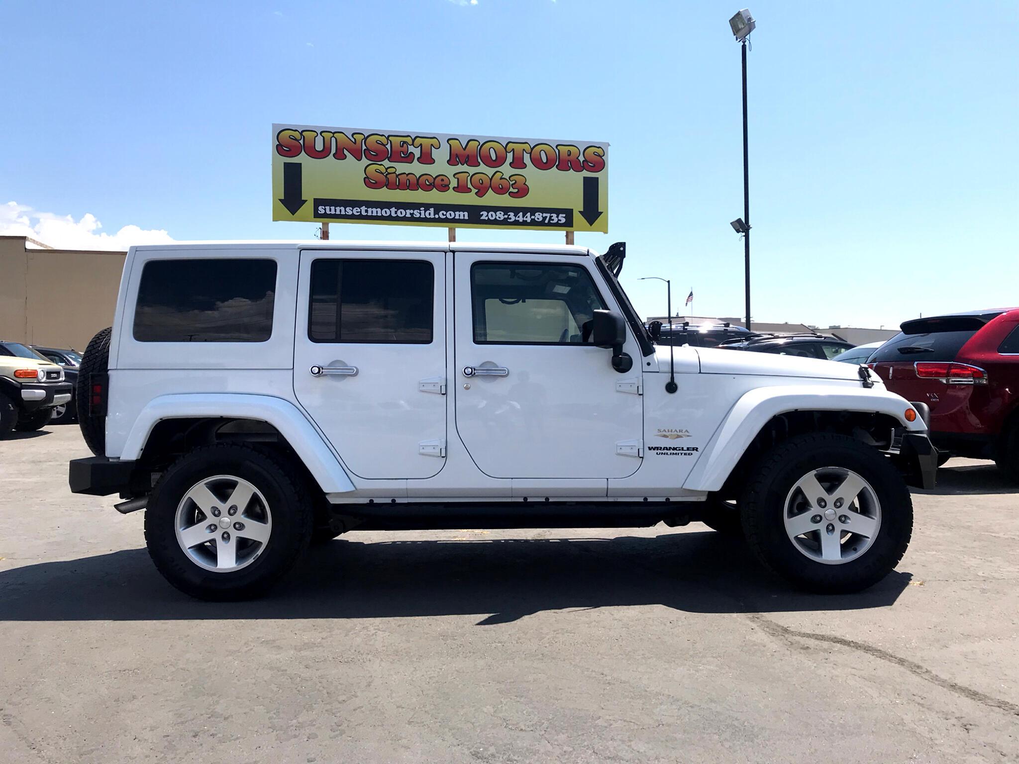 2014 Jeep Wrangler Sahara Unlimited