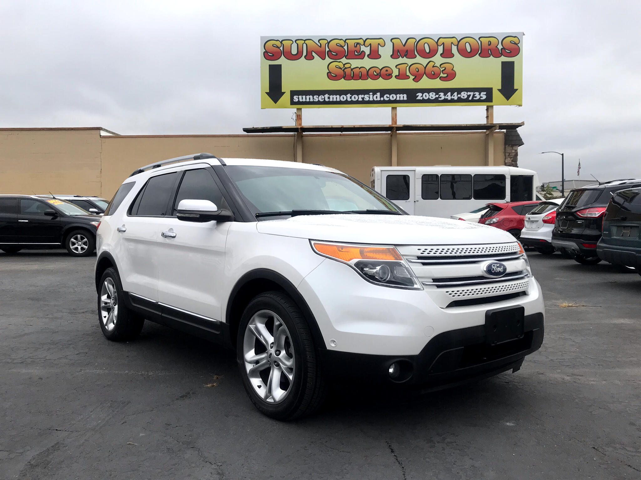 2012 Ford Explorer Limited AWD