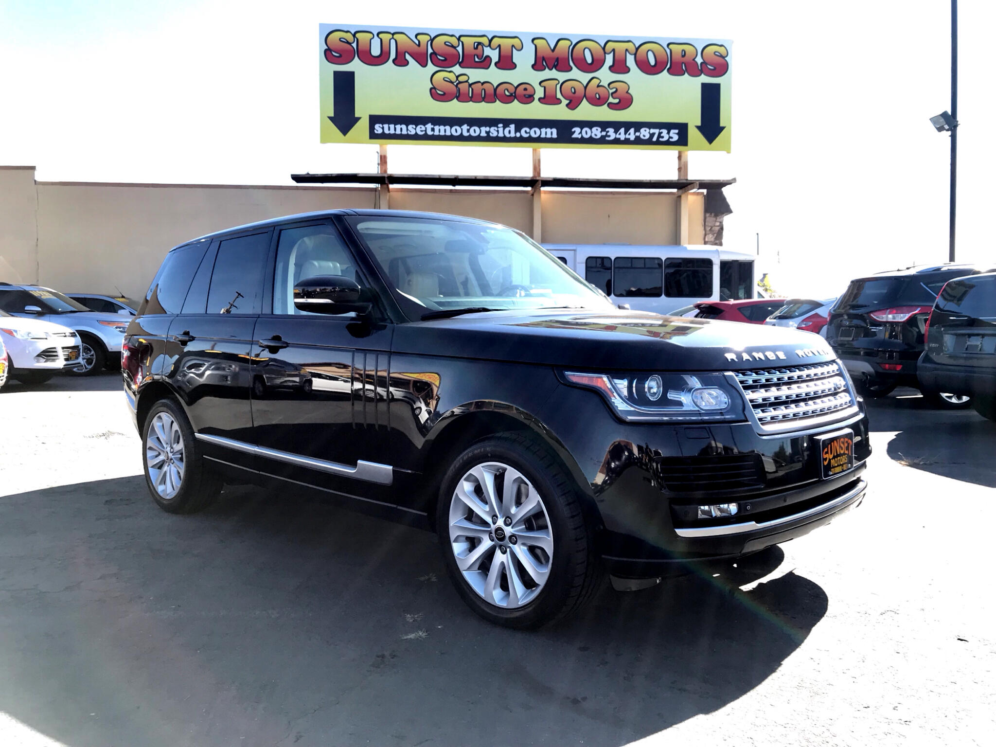2013 Land Rover Range Rover 4WD 4dr HSE