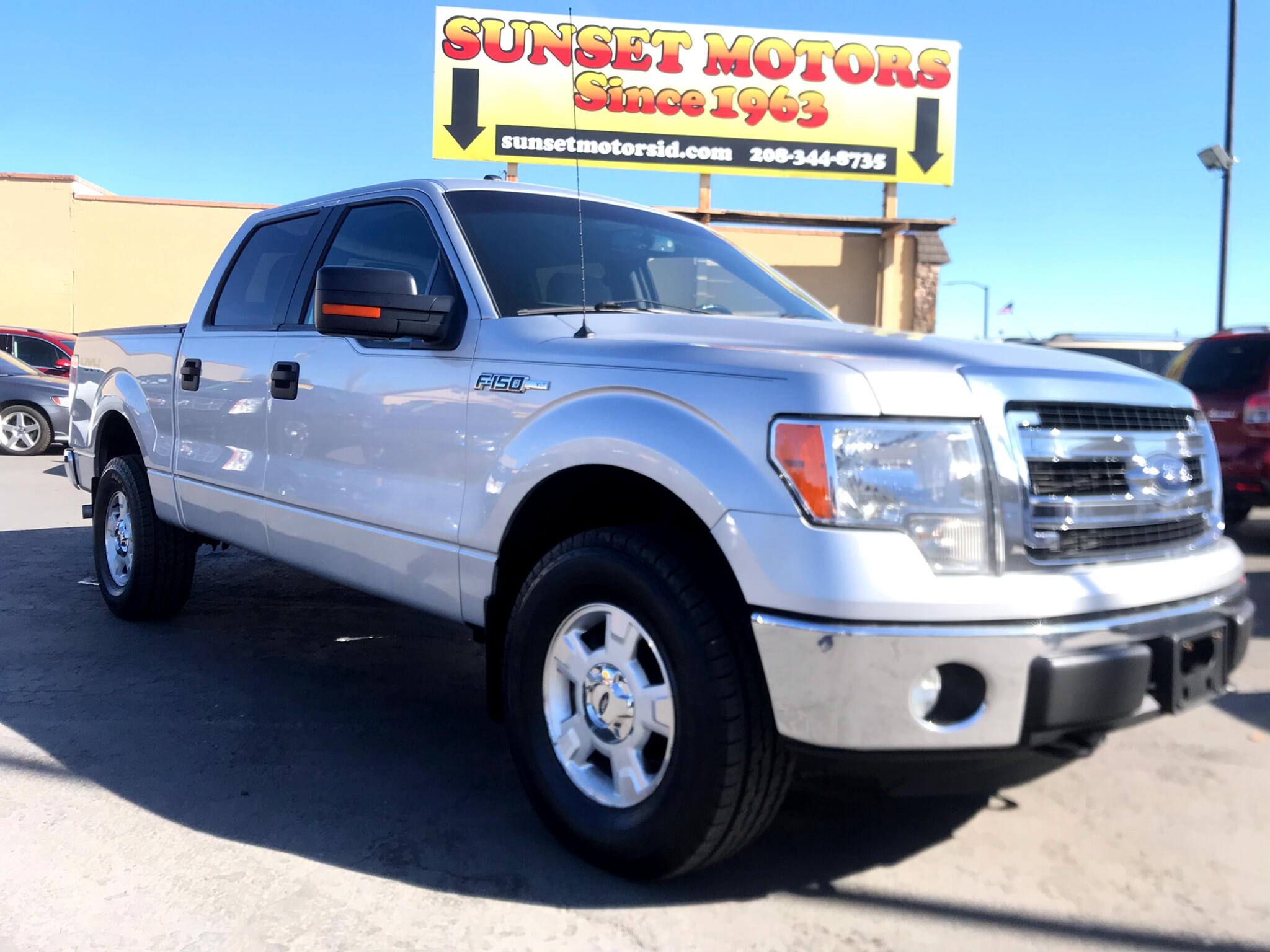 "Ford F-150 4WD SuperCrew 139"" XLT 2013"