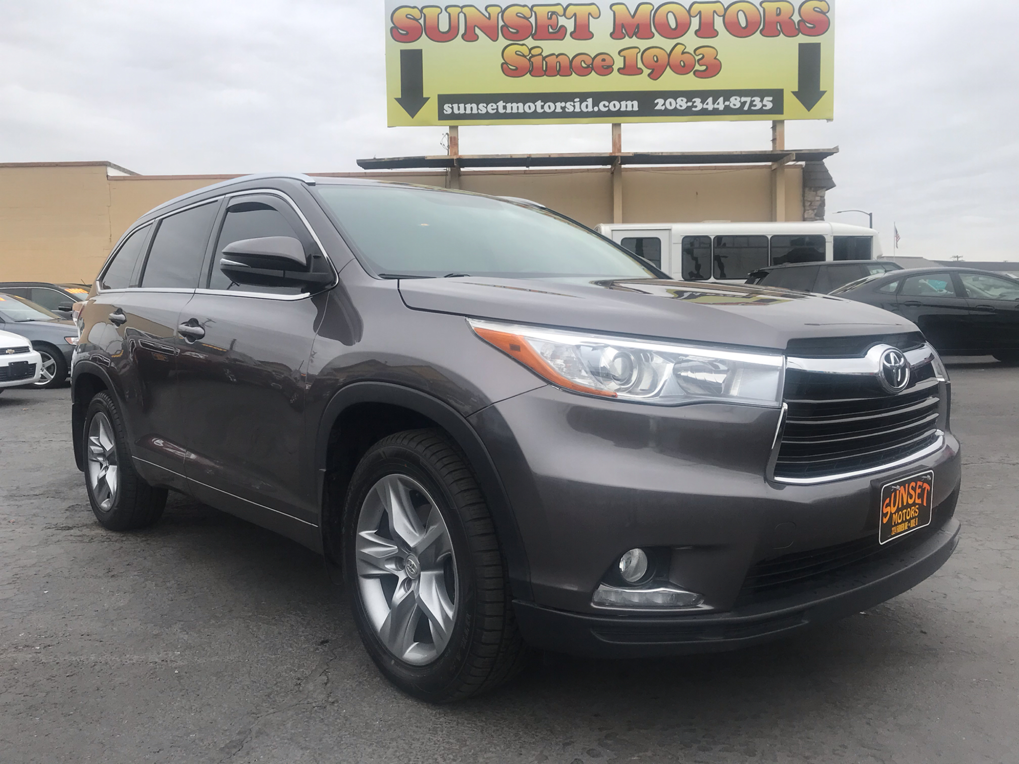 Toyota Highlander AWD 4dr V6 Limited (Natl) 2015