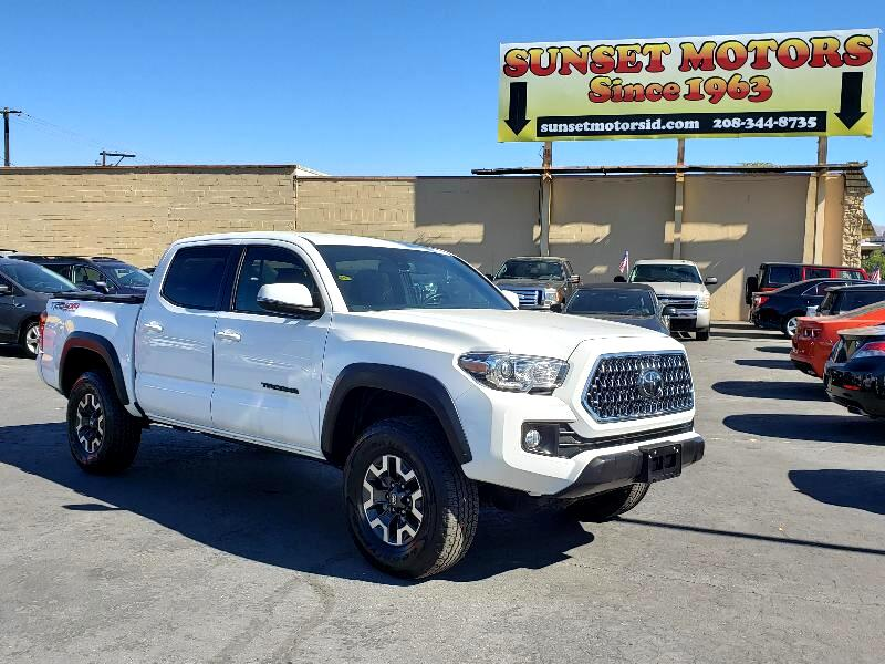 Toyota Tacoma TRD Off Road Double Cab 5' Bed V6 4x4 MT (Natl) 2018