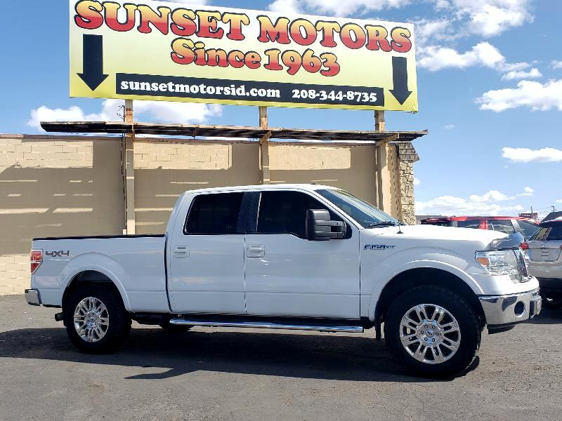 """Ford F-150 4WD SuperCab 145"""" Lariat 2009"""