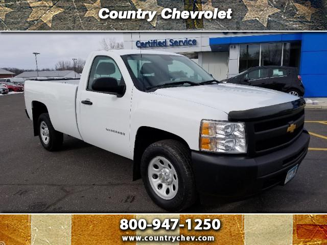 2012 Chevrolet Silverado 1500 Regular Cab 2WD Work Truck