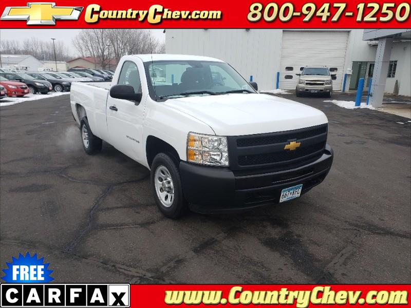 2013 Chevrolet Silverado 1500 Work Truck 1WT Regular Cab 2WD