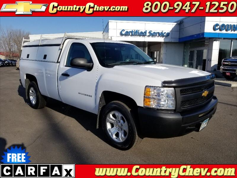 2012 Chevrolet Silverado 1500 Work Truck 1WT Regular Cab 2WD