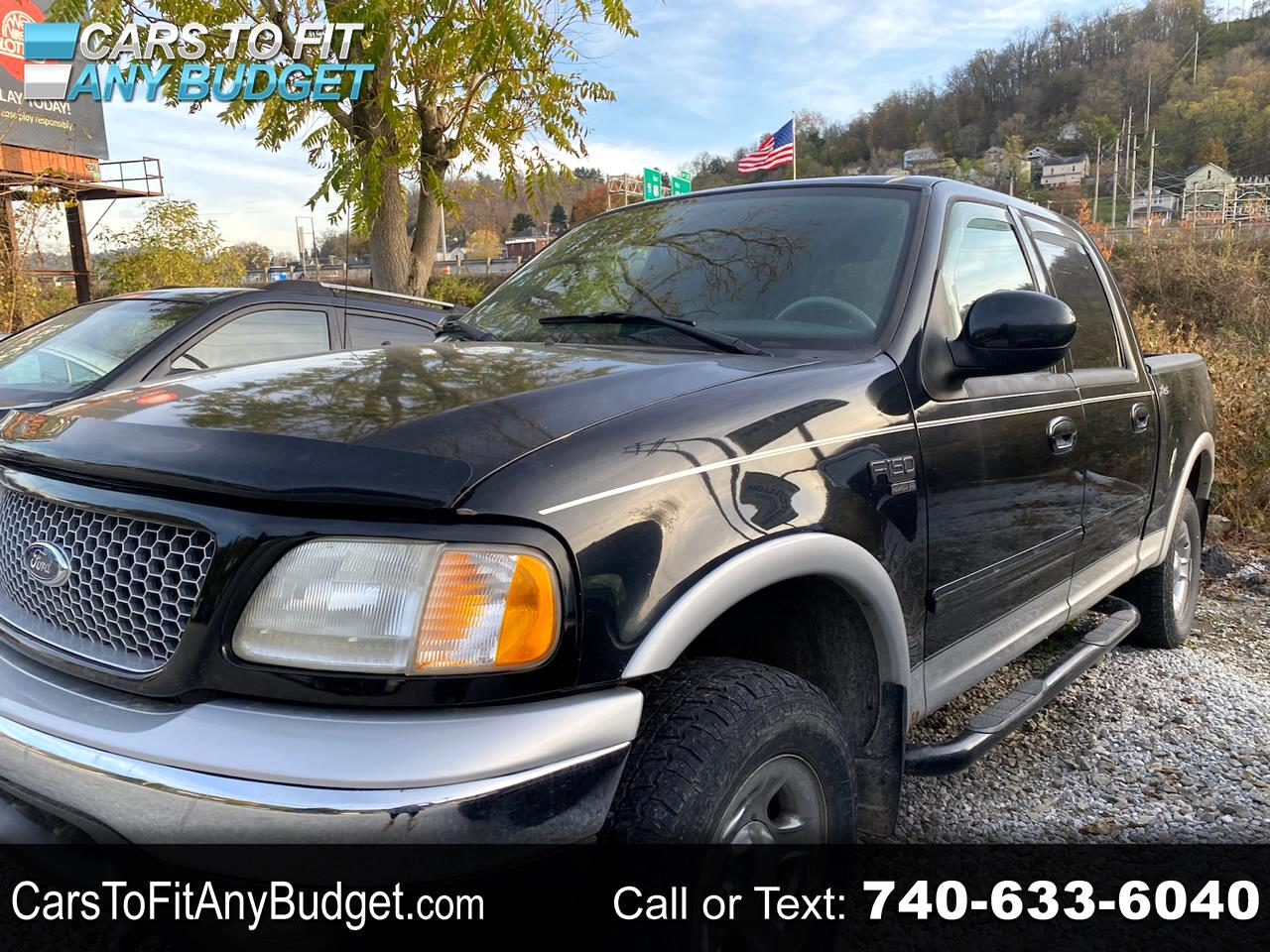 "Ford F-150 SuperCrew 139"" King Ranch 4WD 2003"