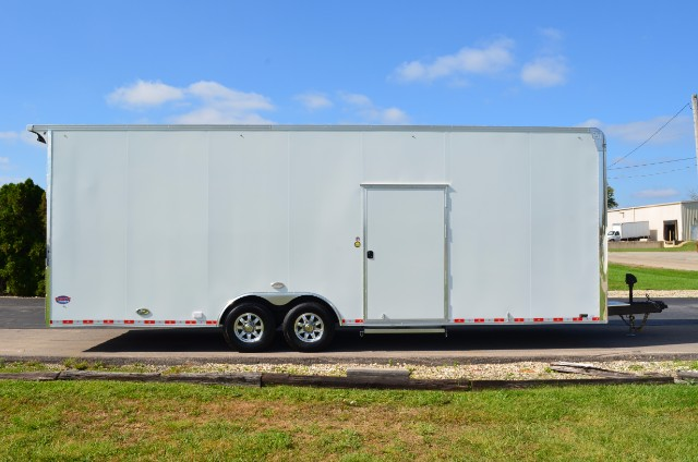 2018 United Trailers UXT 28' Sprint Car Tag Trailer w/ 9' Interior Height
