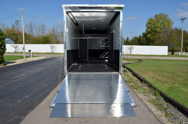 2019 United Trailers UXT 28' Sprint Car Tag Trailer w/ 9' Interior Height