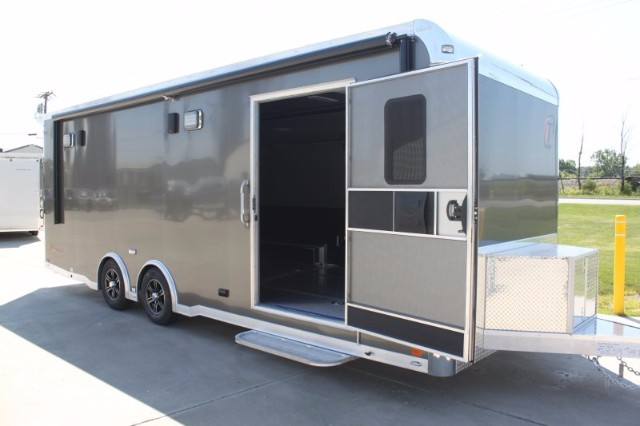 2019 Intech Trailers Icon 24' Trailer with A/C & Full Access Escape Door