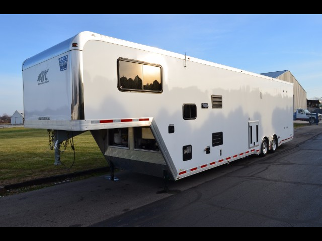 2015 ATC Quest 40' Gooseneck with Living Quarters & 19' Garage