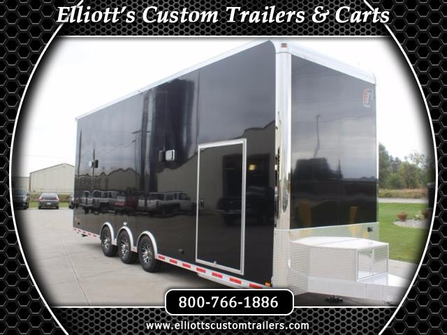 2019 Intech Trailers Stacker 30' Aluminum Race-Ready Stacker w/ 4 Post Lift