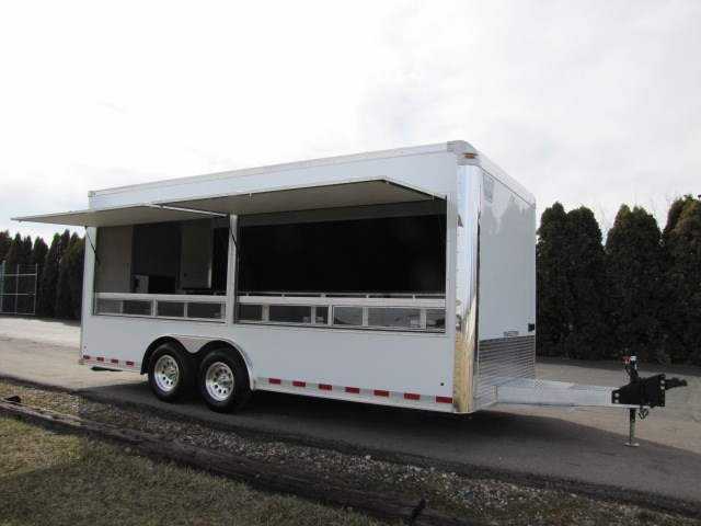 2019 Alumi Tech Custom Vending, Concession, Souvenir, Marketing Trailer