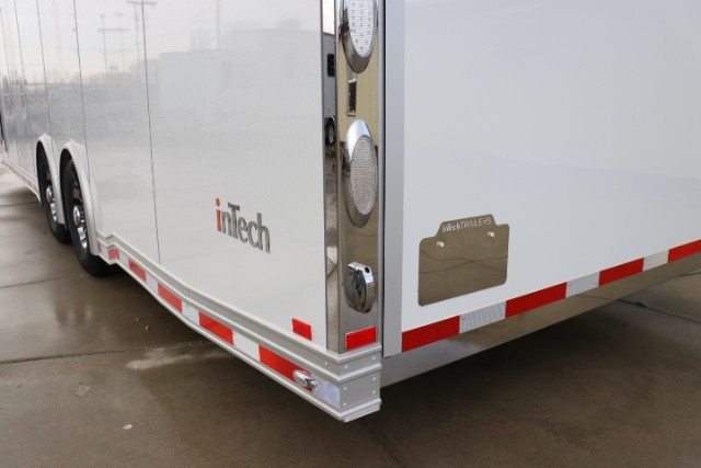 2019 Intech Trailers Icon 28' All Aluminum Enclosed Car Hauler