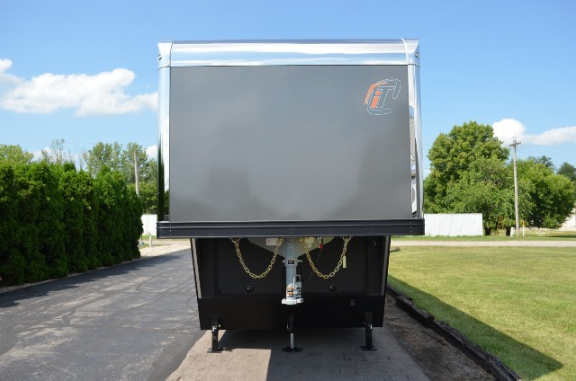 2019 Intech Trailers Gooseneck 38' Sprint Car Trailer - 7000# Axles