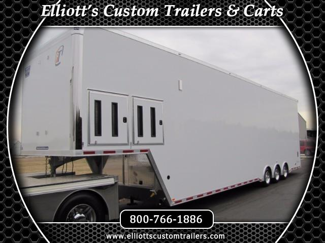 2019 Intech Trailers Gooseneck 44' All Aluminum Sprint Car Stacker Trailer